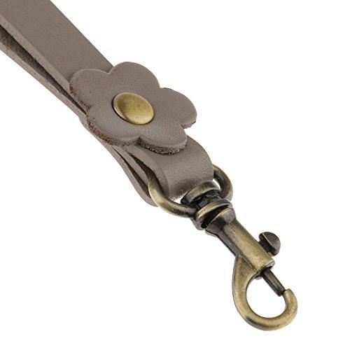 e081c41f82edb ... Gazechimp Damen Taschengriffe Trageriemen Taschengurt 17cm für  Tragetaschen Handtaschen - Weinrot
