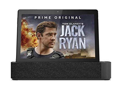 Lenovo Smart Tab M10 with Amazon Alexa (2GB RAM, 16GB, FHD, 4G LTE) + Alexa Speaker Dock