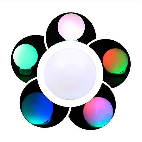 Yagii Im Dunkeln Leuchten Leuchtendes Ball Flash Spielzeug für Party Verein Mehrfarben LED-Licht Haus Dekoration