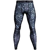 ITISME Homme Pantalons de Compression pour Hommes Collants de Sport  Leggings Collants de Sport Legging de 096f2c95753