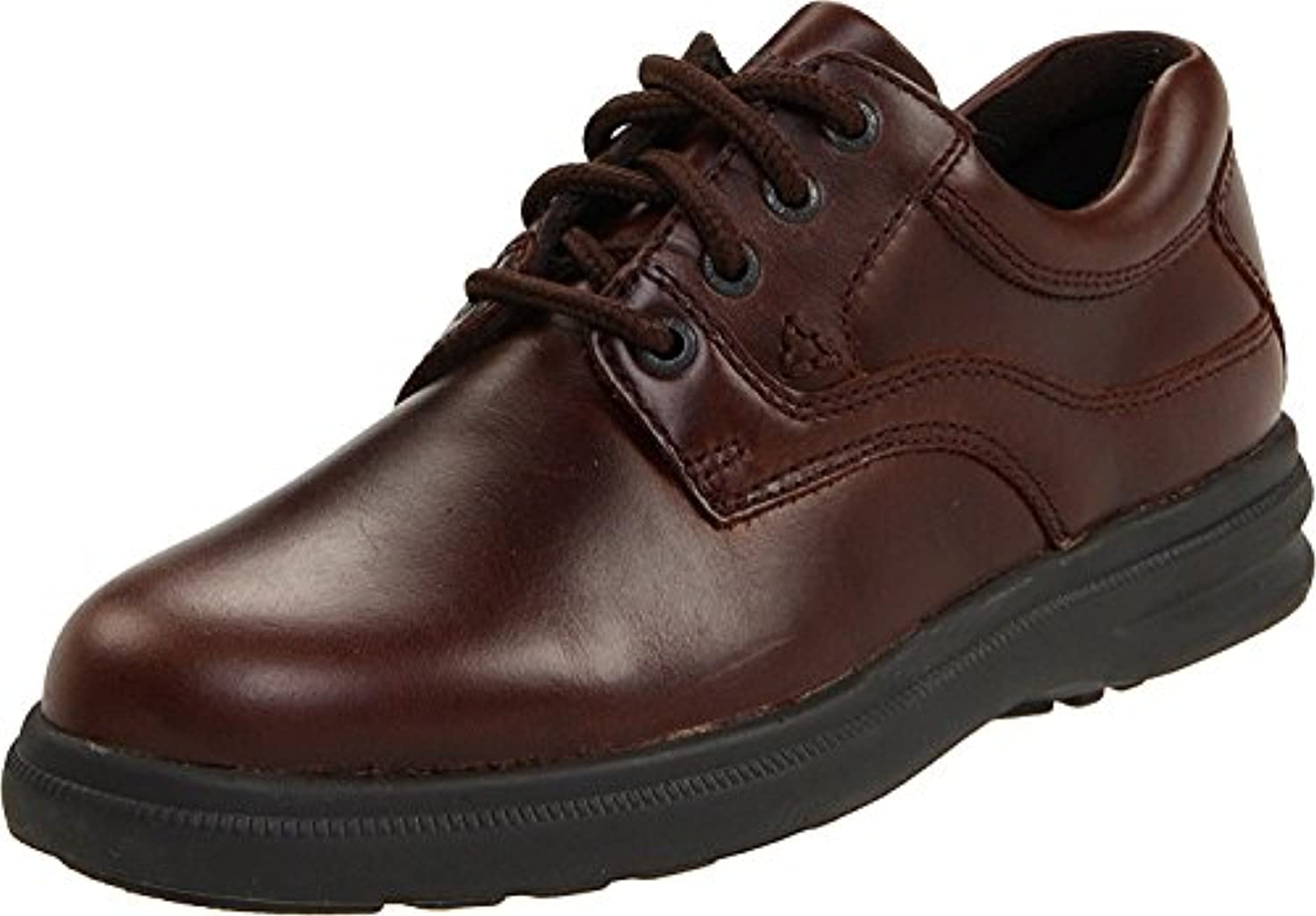 Hush Puppies Men's Glen Oxford, marr?n oscuro, 47 2E EU/12 2E UK