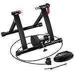 Yaheetech-Rullo-Bicicletta-Allenamento-Trainer-Pieghevole-per-Bici-da-26-a-29-Pollici-e-700C-Ciclismo-Freno-Magnetico-6-velocit-Regolabili-con-Marce-Commutabili-a-Cavo
