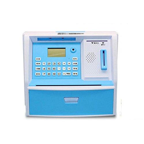Azzurro creativo macchina di plastica ATM salvare le latte dei (Atm Macchina)