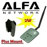 Alfa AWUS036NH 2000mW 2W 802.11g/n High Gain USB Wireless G / N Long-Range