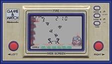Game & Watch Fire Wide Screen