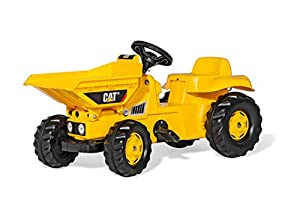 rolly toys rollyKid Dumper Cat Pedal Tractor - Juguetes de Montar (520 mm, 930 mm, 440 mm, 6,6 kg, 815 mm, 400 mm)