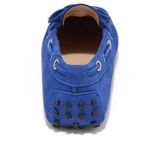 7853L mocassini donna TOD'S heaven scarpe loafers shoes women Blu