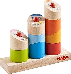 HABA 303711 Juguete de construcción - Juguetes de construcción (Stacking Blocks, Multicolor, 1.5 yr(s), 9 pc(s), Boy/Girl, Children)