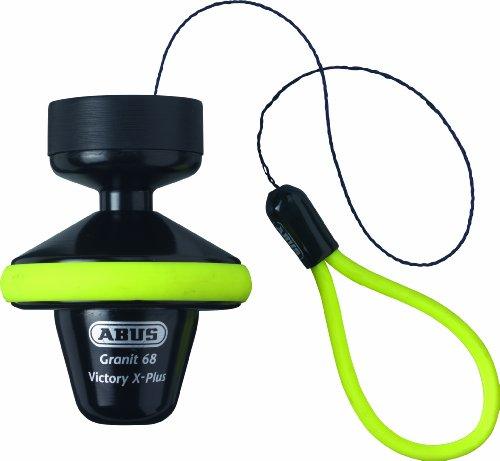 ABUS 571664 - Antirrobo disco 68 III SRA bl. voll roll up Amaril 68 III SRA bl. voll roll up gelb, 14 mm