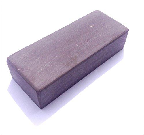 Schleifstein Blauer Belgischer Brocken Körnung 6000 Abmessungen 75x30x15 mm Taschenmesser Schärfer - Schleifstein Kochmesser