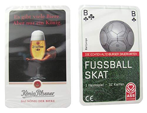König Pilsener Brauerei - Fussball Skat - 32 Blatt