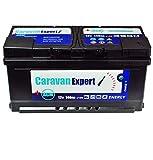 Batería AGM de 140 Ah para caravana, 12 V, sin mantenimiento, 110 Ah, 120 Ah, gel 100