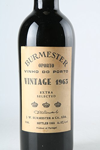 BURMESTER VINTAGE PORT 'Extra Selected' 1963, Porto