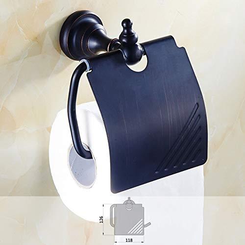 SFOP Schwarz Bronze Neue Papier Handtuchhalter Rollenhalter Messing Badezimmer Hardware Anhänger -