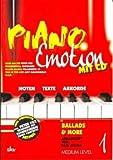 PIANO EMOTION 1 - arrangiert für Klavier - mit CD [Noten / Sheetmusic]