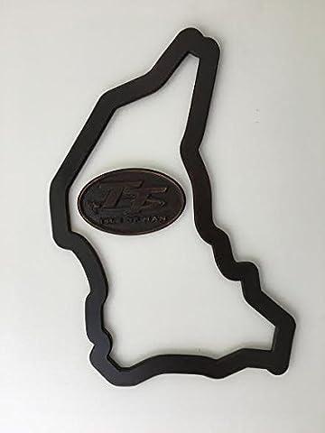Tt Isle of Man Race Track en russe Bouleau. Cadeau idéal pour tous les fans de moto Sport/père de jour/suivi/de Noël Cadeau de fête