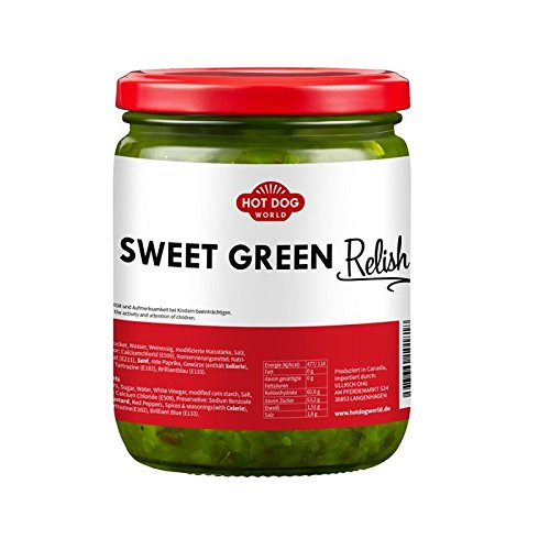 Sweet Green Relish (490g)