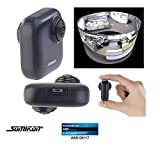 Somikon 360 Cam: 360°-Panorama-Kamera für Android-OTG-Smartphones, 2K, YouTube Live (VR Kamera)