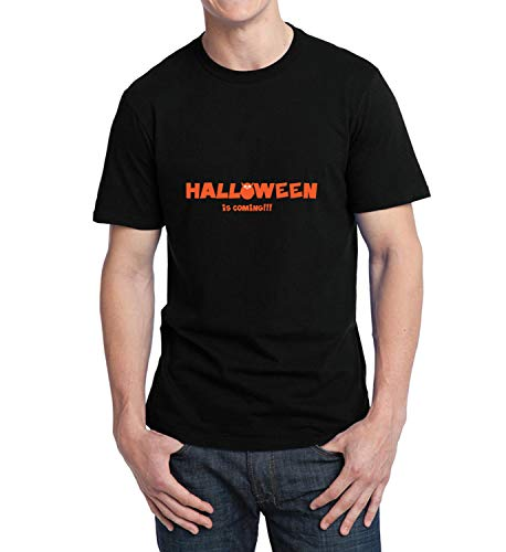 Halloween is Coming Cute Owl_006320 T-Shirt Birthday for Him XL Men Black