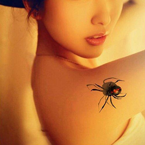 tafly-waterproof-faux-tatouages-autocollants-tanches-les-araignes-temporaire-3d-5-feuilles