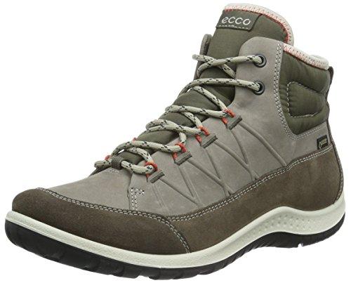 Ecco Aspina, Chaussures Multisport Outdoor Femme, Marron (Dark Clay/Warm GREY56610), 37 EU