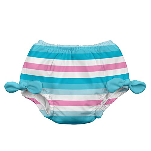 i play. 711183-634-42 Schwimmwindel 3-6 Monate, Stripe, aqua