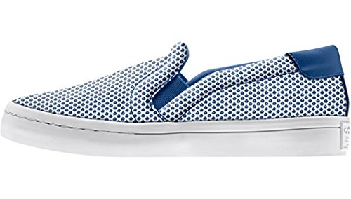 Originals S81870 Sneaker Adidas Adicolor Court Damen Weiß Blau Schuhe Slipper Vantage dqqOfz