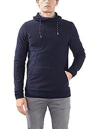 Esprit Mit Schalkragen-Slim Fit, Sweat-Shirt Homme