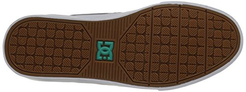 DC Nyjah Vulc Soudé Shoe Grey/Black/Green
