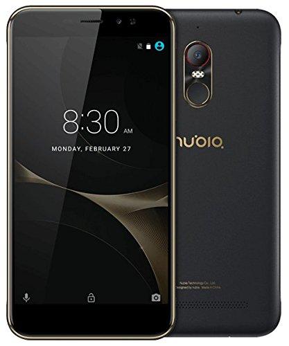 Foto Nubia nx597j N1Lite Smartphone (13,9cm (5,5pollici), memoria interna da 16GB, 2GB RAM, Fotocamera 8MP, Android 6.0) nero/oro