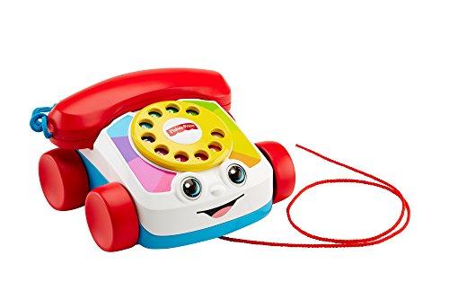 Fisher-Price - Teléfono carita divertida (Mattel FGW66 )