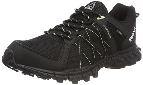 Reebok Damen Trailgrip RS 5.0 GTX Walkingschuhe, Schwarz (Black/Aloe Green 0), 39 EU