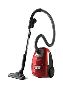 Electrolux ZUS3922R UltraSilencer Aspirateur avec Sac Rouge Pastèque 1800 W