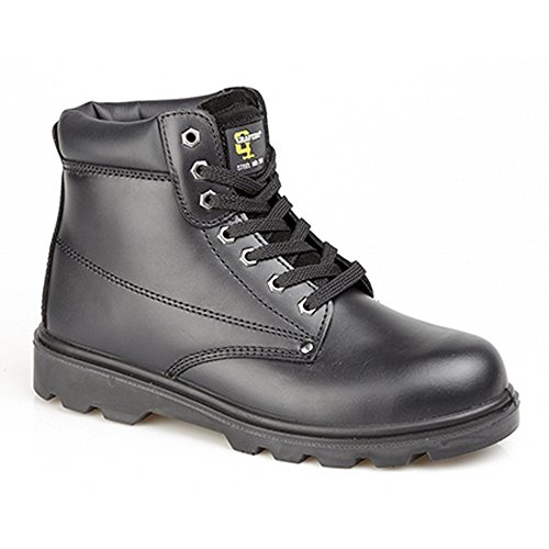Grafters Chaussures Montantes de Sécurité - Homme Noir