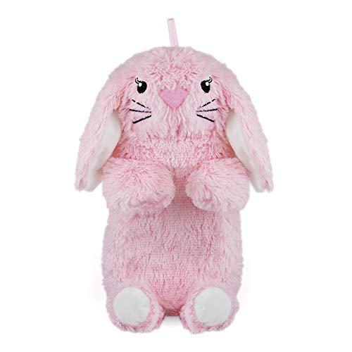 Kaninchen Plüsch 750ml Wärmflasche & Abdeckung - Rosa