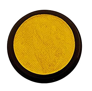 Eulenspiegel - Maquillaje Profesional Aqua, 20 ml / 30 g, Color Brillo perlino Amarillo (180228)