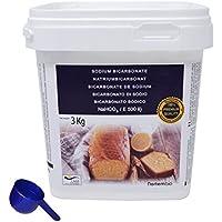 Bicarbonato de Sodio NortemBio 3kg, Calidad Premium. Producto CE.