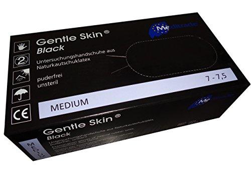 Latex-Handschuh Gentle Skin black 200 Stück (2 Boxen à 100 STK) (M)