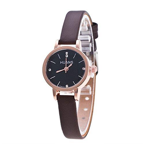LSAltd Minimalistische Mode-Frauen-feine Bügel-Uhr-Reise-Andenken-Geburtstags-Geschenke