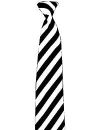 Runway Splash–Unisex Monochrome Party School Tie Fancy Dress Costume Fancy Dress Dance Wear