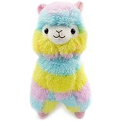 BBsmile 13 CM de Colores Kawaii Alpaca Llama Arpakasso Regalo de Muñeca de Peluche Suave Juguetes Lindos