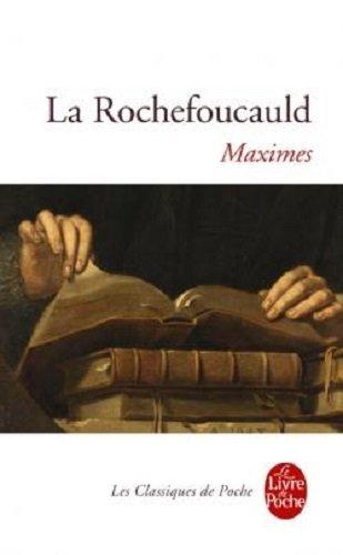 Maximes par François de La Rochefoucauld