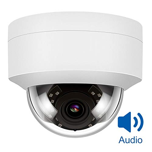 5MP Überwachungskamera PoE IP Kamera mit Audio,Fernzugriff und IP66 Wasserfest für Aussen,H.264/H.265 - Lorex-security-kamera