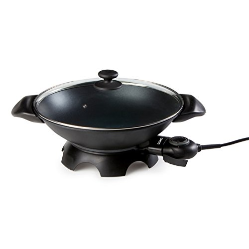 41WC8xtk6EL. SS500  - Domo DO8708W Electric Wok, Aluminium, 2200 W, 5 liters, Black