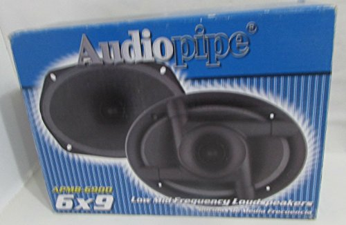 Audiopipe 6X9 Low mid Frequency loudspeakers (Sold in Pairs) 125W RMS 8Ohms 250w Coaxial