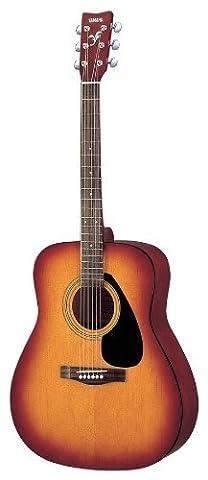 Yamaha F-310P TBS Akustik Westerngitarre Tobacco Brown Sunburst (inkl. Gigbag, Gurt, Stimmpfeife, Saiten, 3 Plecs, Saitenkurbel,