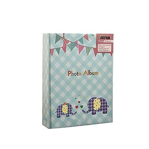 Arpan 15,2x 10,2cm kleines Fotoalbum für 100Fotos, zum Einschieben, verschiedene Designs & Farben