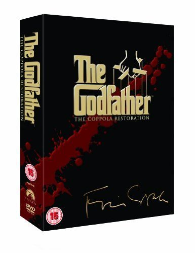 The Godfather Complete [5 Disc]DVD Collection Box Set: Godfather Part 1, Part 2, Part 3 + Behind the Scenes / On location / Music / Screenwriting / Auditions / Storyboards / Cinematography / Additional Scenes /Family Trees / Trailers / Academy Award spee