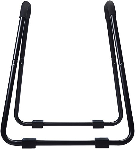 AmazonBasics - Barra de dominadas, ideal para fitness, 87 x 82,5 x 97,5 cm, negro