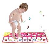 ZhongYe Kinder Spielmatte Musik Spielteppich Spieldecke Tanzmatte 100 * 36 cm